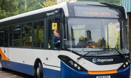 """STAGECOACH LISTEN TO FEEDBACK AND ANNOUNCE TRIAL OF GREAT VALUE """"1+2"""" EXETER DAYRIDER TICKET"""