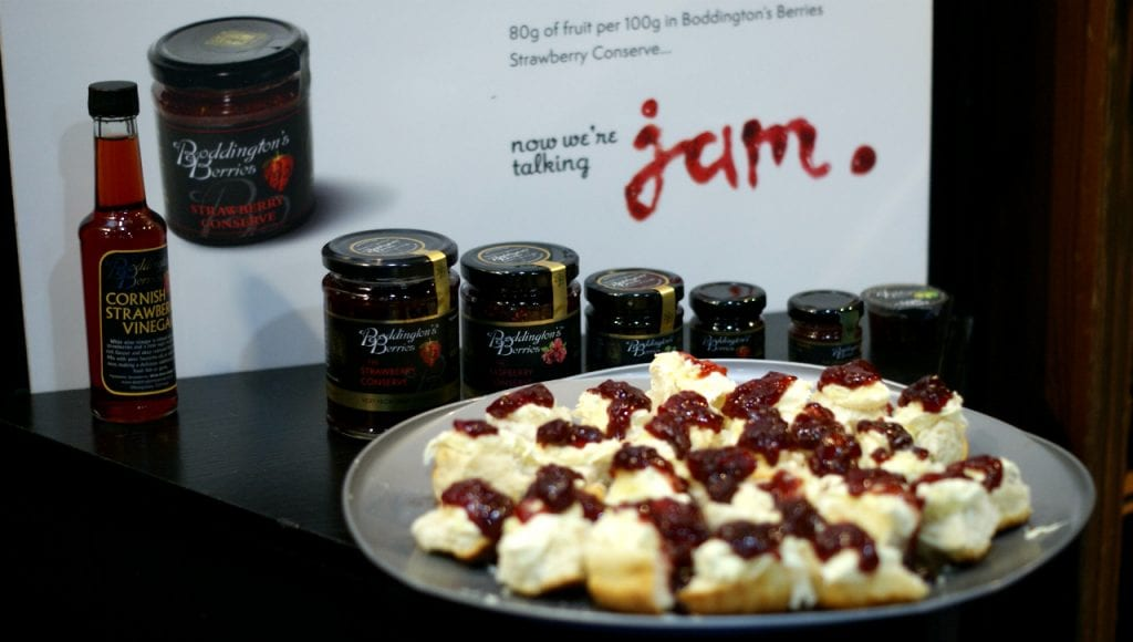 Scone jam cream Source Trade Show Grow Sofy Robertson