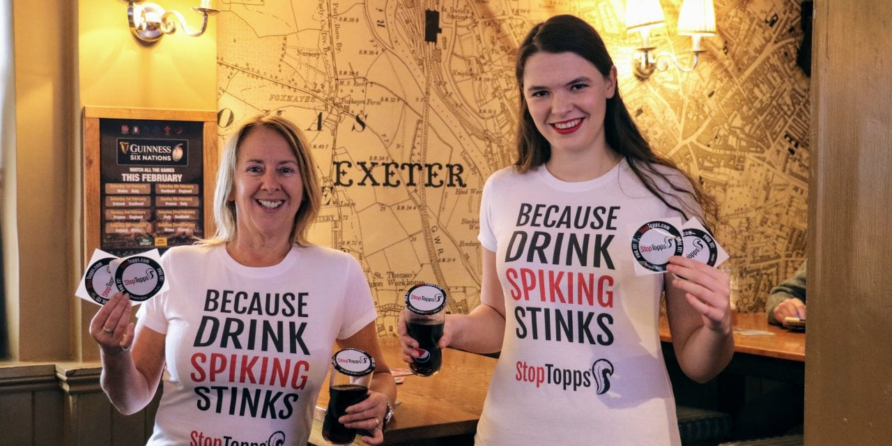 Miss Devon To Be The Face Of StopTopps Anti-Drink-Spiking Campaign