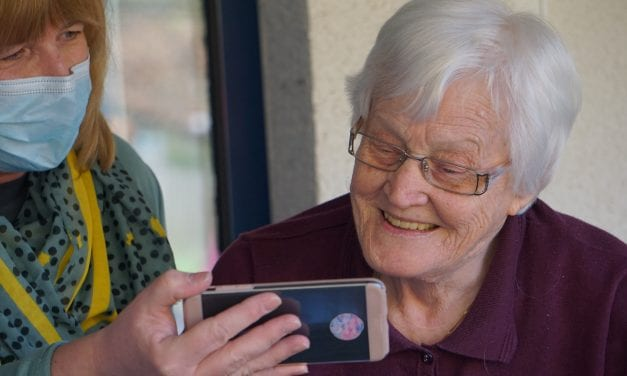 Exeter care homes are joining the zoom revolution