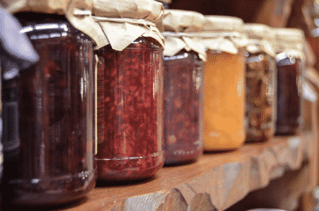 zero waste jars preserves